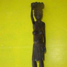 Arte Étnico: TALLA EN EBANO MUJER. Lote 13417497
