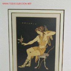 Arte: PRCIOSO CUADRO CON MOTIVOS GRIEGOS. Lote 19459421