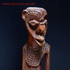 Arte: ANTIGUA ESCULTURA AFRICANA DE CARACTER CUBISTA. Lote 26313079