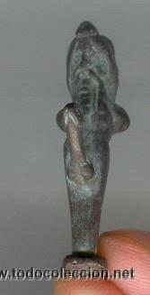 DIOS PRIAPO ROMANO DE PLATA BONITA COPIA DIOS FECUNDIDAD (Arte - Étnico - Europa)