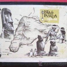 Arte: ISLA DE PASCUA. BONITO TRABAJO DE ENMARCADO . ENVIO GRATIS¡¡¡. Lote 10086007