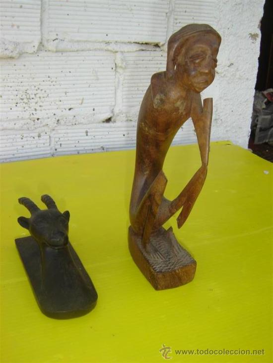 2 TALLA AFRICANAS (Arte - Étnico - África)