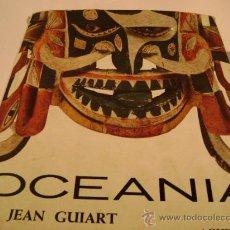 Arte: OCEANIA. AUTOR:JEAN GUIART. Lote 12310454
