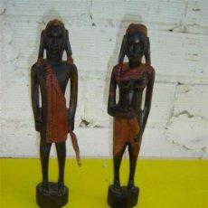 Arte: 2 TALLAS AFRICANAS. Lote 13345902