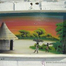 Arte: PINTURA AFRICANA. Lote 13355362