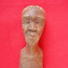 Arte: ARTE AFRICANO. FIGURA TALLADA EN MADERA. Lote 16953048
