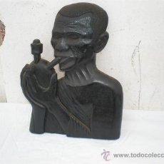 Arte: FIGURA DE PARED AFRICANA. Lote 18487937