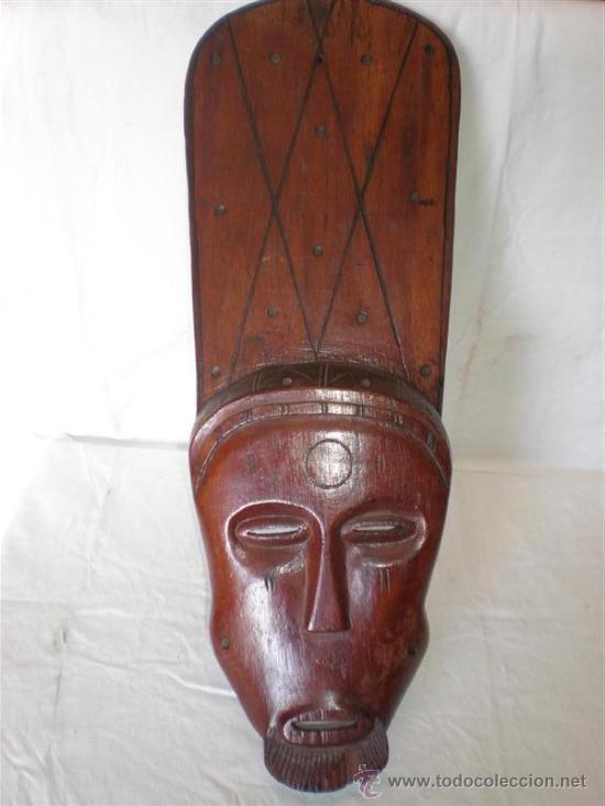 CARETA AFRICANA ETNICA (Arte - Étnico - África)