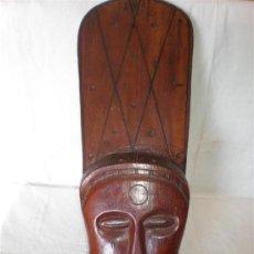 Arte: CARETA AFRICANA ETNICA. Lote 18496540