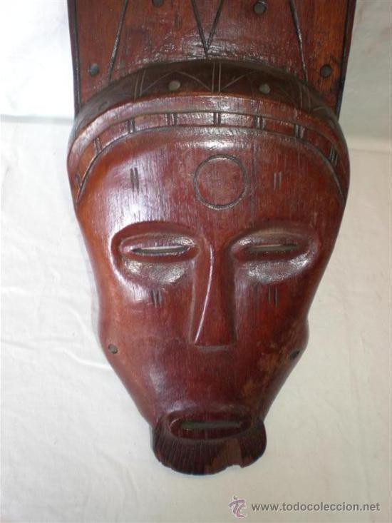 Arte: careta africana etnica - Foto 2 - 18496540