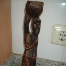 Arte: TALLA DE MUJER AFRICANA. Lote 27183537