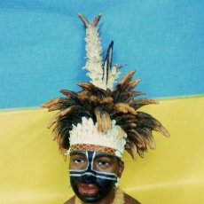Arte: ABORIGEN.- TRIBES OF THE WORLD / TRIBUS DEL MUNDO.- ALTA CALIDAD.- PINTADOS A MANO.- VER FO. Lote 21950253