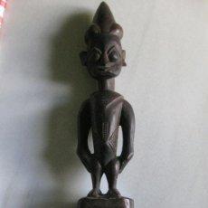 Arte: TALLA EN MADERA DE LA CULTURA YORUBA - NIGERIA - AFRICA - EXTRAORDINARIA PIEZA. Lote 27060136