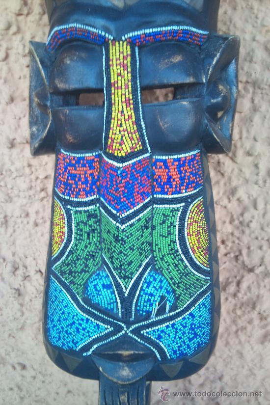 MASCARA O BUSTO DE ORIGEN AFRICANO , ARTE INDIGENA (Arte - Étnico - África)