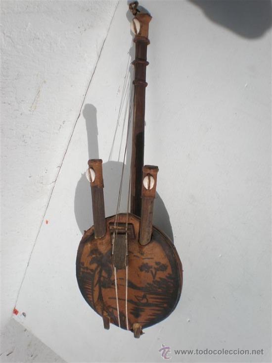 GUITARRA DE ANTIGUA AFRICANA (Arte - Étnico - África)