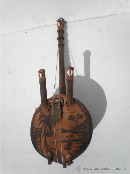 Arte: guitarra de antigua africana - Foto 2 - 24997709