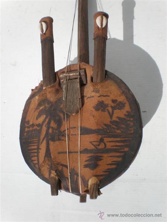 Arte: guitarra de antigua africana - Foto 3 - 24997709