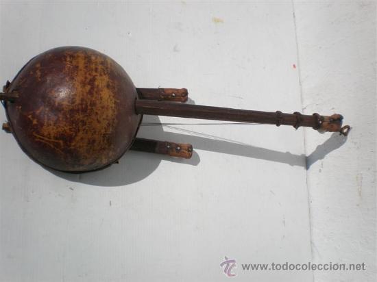 Arte: guitarra de antigua africana - Foto 4 - 24997709