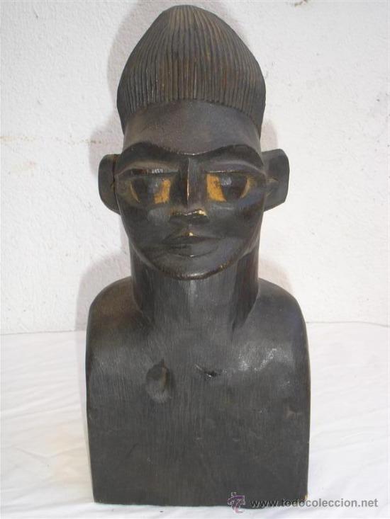 ESCULTURA DE MADERA AFRICANA (Arte - Étnico - África)