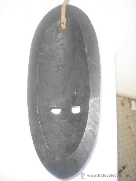 Arte: mascara africana madera tanzania - Foto 5 - 30942130