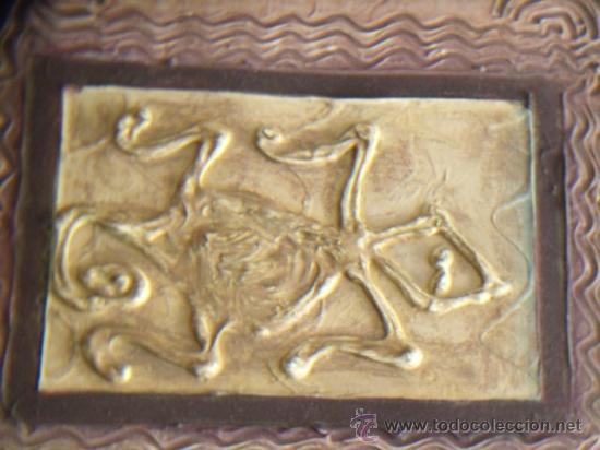 Arte: CUADRO DE LA CULTURA TAÍNA. REALIZADO EN ACRÍLICO Y PASTA. SIN ENMARCAR. - Foto 2 - 32489298