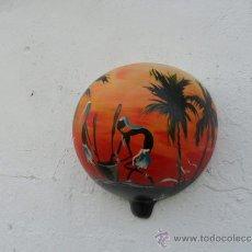 Arte: PINTURA EN CALABAZA AFRICANA. Lote 36712477