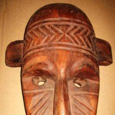 Arte: GRAN MÁSCARA AFRICANA ETNIA TOMA - LIBERIA. Lote 36834129