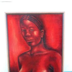 Arte: PINTURA AFRICANA. Lote 37204301