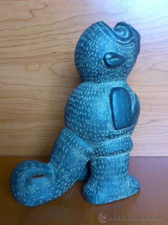 Arte: Sahumador de terracota negra ( Mono Andino Indigena ) sellado, S.XIX - Foto 7 - 37287913