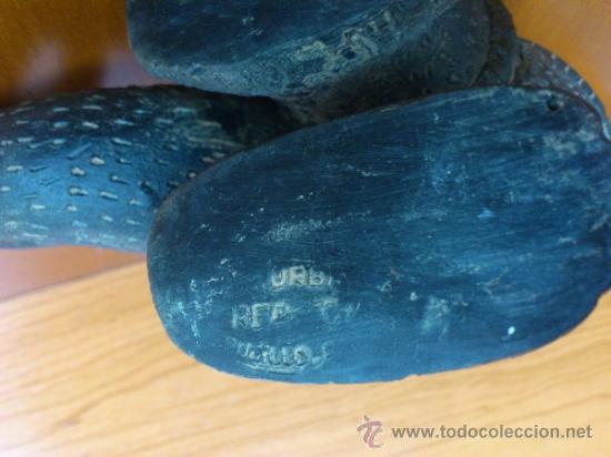 Arte: Sahumador de terracota negra ( Mono Andino Indigena ) sellado, S.XIX - Foto 13 - 37287913