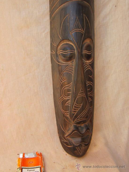 TALLA AFRICANA EN MADERA (Arte - Étnico - África)