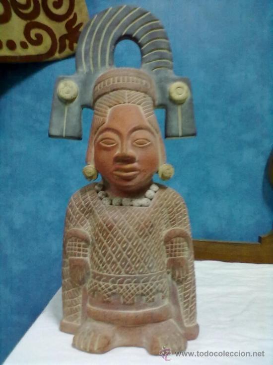FIGURA PRECOLOMBINA TERRACOTA (Arte - Étnico - América)
