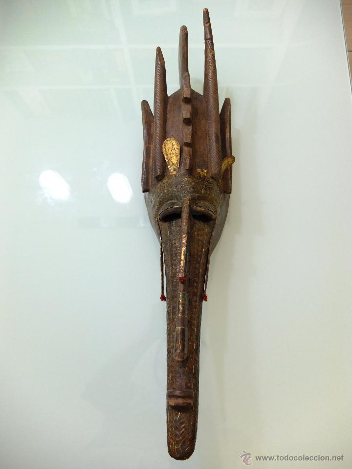 Arte: MASCARA MARKA (WARKA), Arte africano , Arte etnico , MALI , Africa - Foto 3 - 41325120