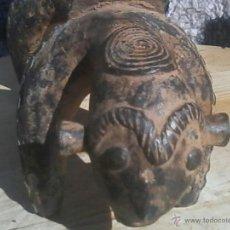 Arte: FIGURA BRONCE BENIN AFRICA PIEZA UNICA. Lote 42521586