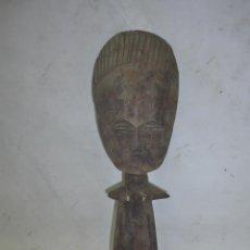 Arte: ANTIGUA MUÑECA ASHANTI FETICHE DE LA FERTILIDAD, DE GHANA, AFRICA.. Lote 42762309