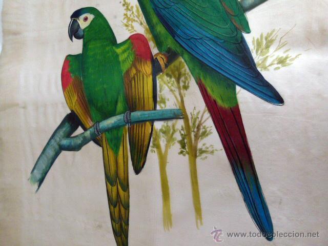 Arte: Pintura original sobre seda natural - Foto 3 - 42797896