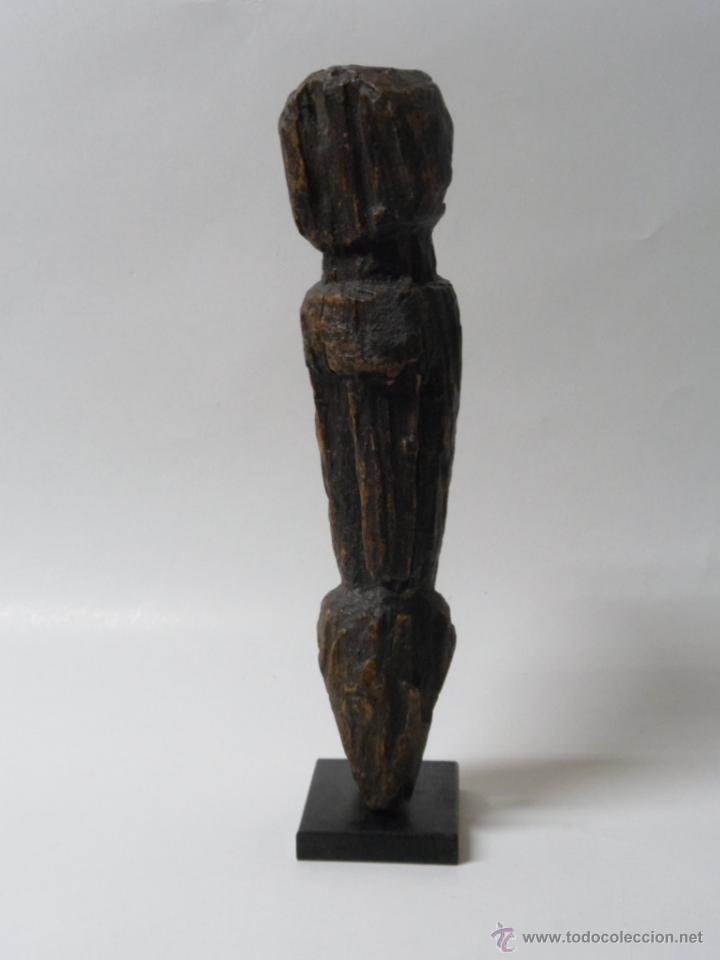 Arte: ARTE ÉTNICO AFRICANO. TALLA FIGURA ADIVINACIÓN MOBA. TOGO. ÁFRICA. - Foto 3 - 42910224