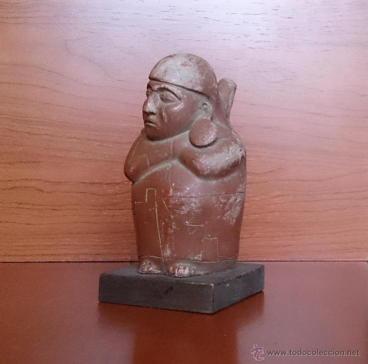 Arte: DURMIENTE. RECIPIENTE DE BARRO. CULTURA DE MOCHE. MÉJICO. 500 AÑOS ANTES DE CRISTO - Foto 14 - 43710252