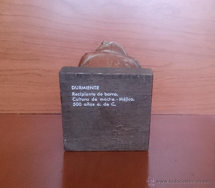 Arte: DURMIENTE. RECIPIENTE DE BARRO. CULTURA DE MOCHE. MÉJICO. 500 AÑOS ANTES DE CRISTO - Foto 17 - 43710252