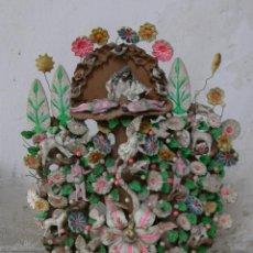 Arte: MEXICO /MEJICO METEPEC CANDELABRO CREA DE LA VIDAMEXICO TIBURCIO SOTENO F METEPEC. Lote 43805860
