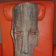 Arte: ANTIGUA Y ORIGINAL MASCARA AFRICANA DEL CONGO POSIBLEMENTE KUBA NYIMBITA . Lote 43858583