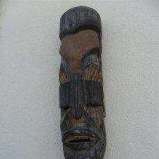 Art: MASCARA DE MADERA AFRICANA. Lote 43985847