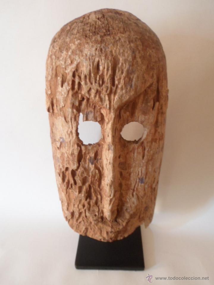 MASCARA DOGON. TALLA ARTE ÉTNICO AFRICANO. MALI. ÁFRICA. (Arte - Étnico - África)