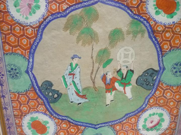 Arte: Acuarela china enmarcada - Foto 2 - 44238862
