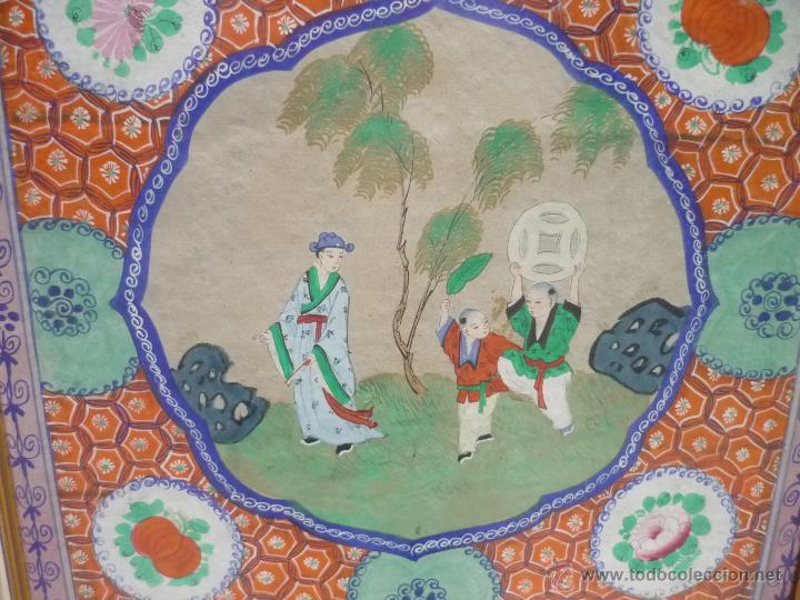 Arte: Acuarela china enmarcada - Foto 3 - 44238862