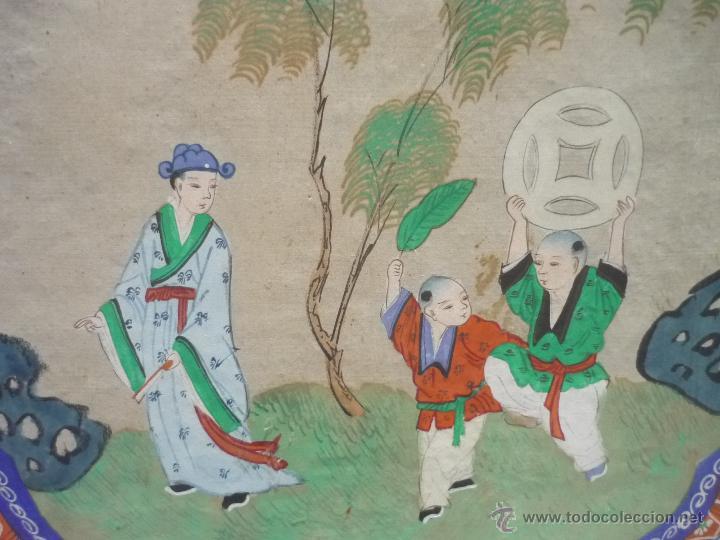 Arte: Acuarela china enmarcada - Foto 7 - 44238862