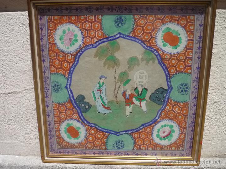 Arte: Acuarela china enmarcada - Foto 8 - 44238862