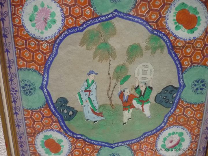 Arte: Acuarela china enmarcada - Foto 9 - 44238862
