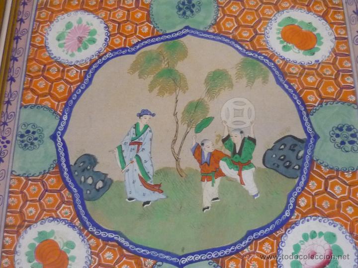 Arte: Acuarela china enmarcada - Foto 10 - 44238862