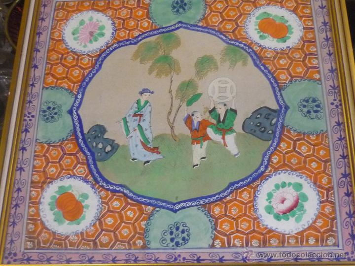 Arte: Acuarela china enmarcada - Foto 11 - 44238862